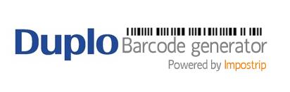 Duplo Barcode Generator Image